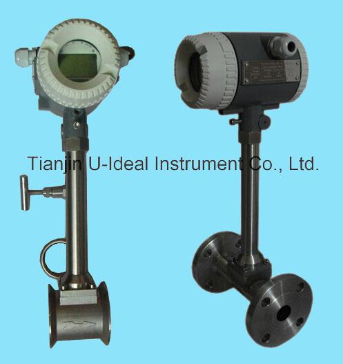 Gas or Steam Mass Flow Meter-Volumn Vortex Flow Meter