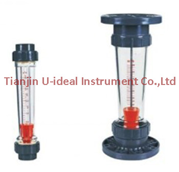 LZS precision and durable plastic tube rotameter