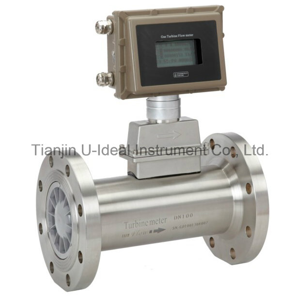 Lcd air turbine flowmeter water flow meter